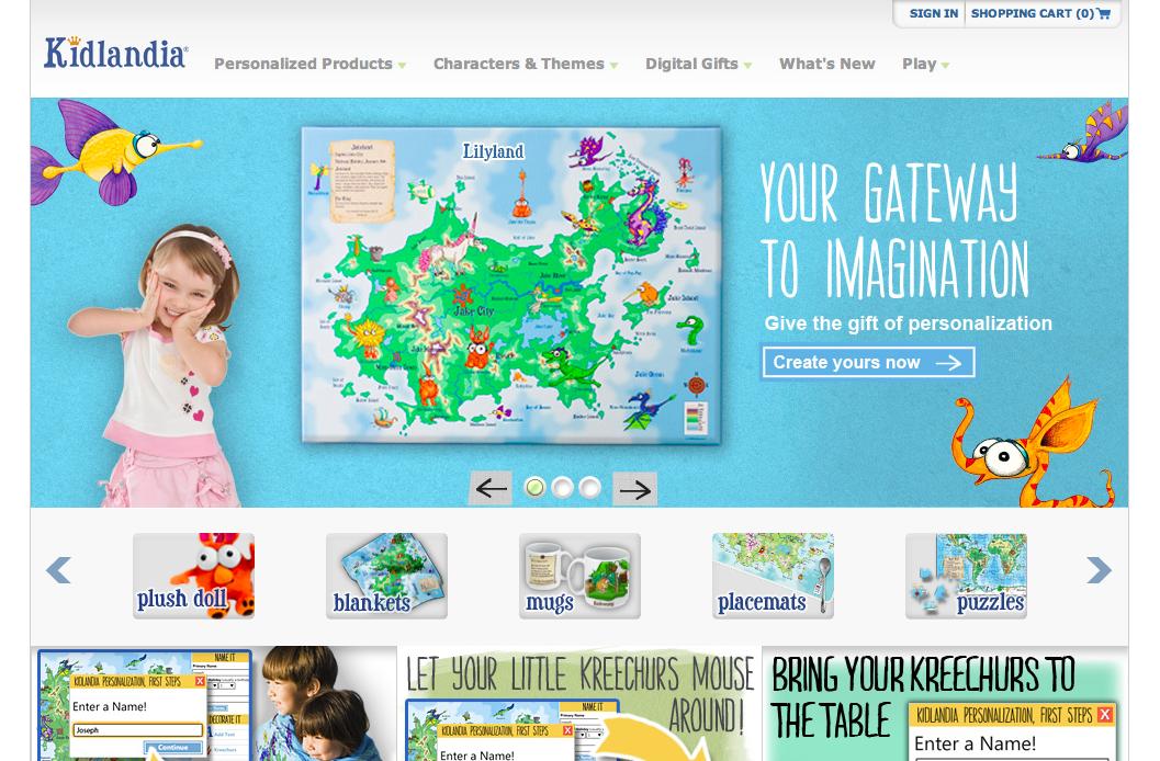 """""""国王""""になってオリジナル地図を作ろう! 子供向け地図サービス「Kidlandia」オープン"""