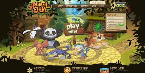 ナショナルジオグラフィックの子供向け仮想空間「Animal Jam」、ユーザー数100万人突破