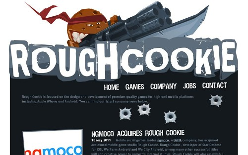 ngmoco、オランダのゲームディベロッパーRough Cookieを買収