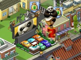 Zynga、街作りソーシャルゲーム「CityVille」にて映画「カンフー・パンダ2」とのタイアップを実施