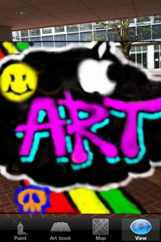 ARで空間にスプレーアートを描こう!「Spray Art」_1