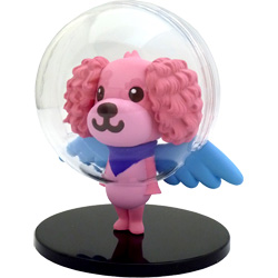 コロプラ、キャラクター「宇宙犬」 のリアルフィギュアを発売!