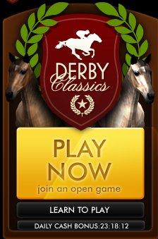 ケイブ、Facebookにて初の海外向けソーシャルゲーム「Derby Classics」をリリース