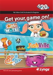 Zynga、プリペイドカードの販売地域を拡大 新たに欧州に進出1