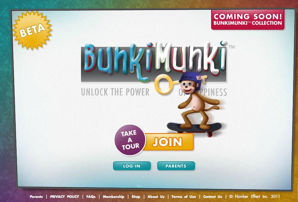 カナダのNumber Effect、子供向け仮想空間「BunkiMunki」をリリース