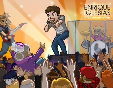 シンガーのエンリケ・イグレシアス、Zyngaのソーシャルゲーム「CityVille」でプロモーション