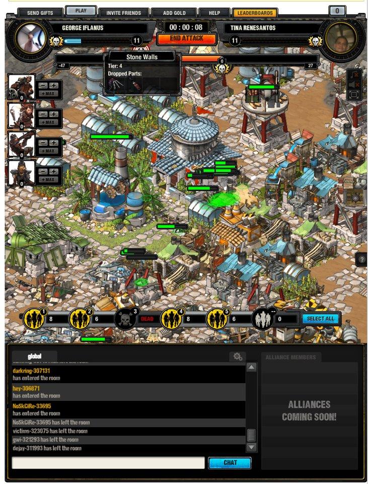 CrowdStar、Facebookにてハードコアなソーシャルゲーム「Wasteland Empires」をリリース