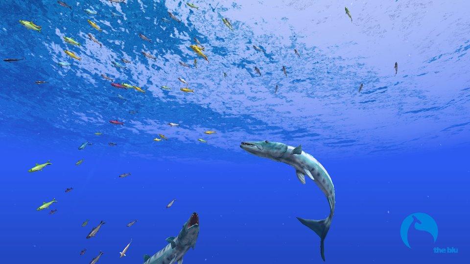 アバターは「魚」、魚になって海底を泳ぐ仮想空間「the blu」