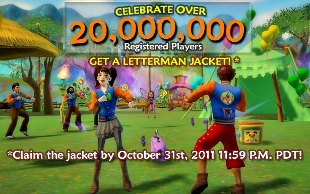 Free Realms、ユーザー数2000万人を突破