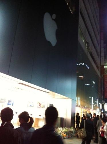 【レポート】アップルストア銀座店へ行ってきました1