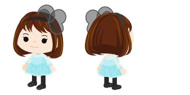 アメーバピグ、AKB48の新曲「風は吹いている」のアバター用衣装を配布1