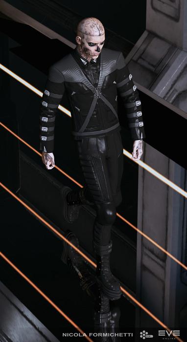 レディ・ガガのファッションディレクター、MMO 「EVE Online」のアバターをデザイン1