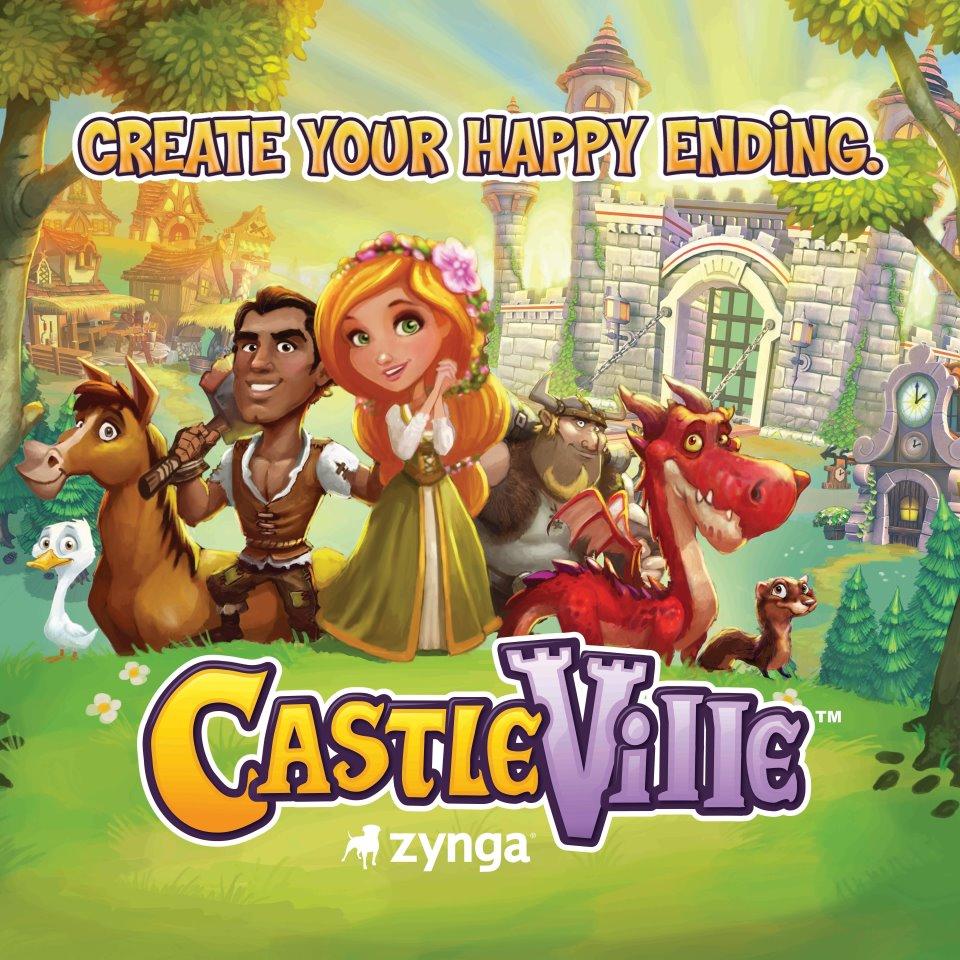 今度は中世がモチーフ Zyngaの新タイトルは「CastleVille」