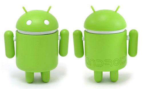 Androidのマスコットキャラ「ドロイド君」のフィギュア、日本でも正式販売決定1