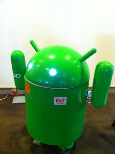 【レポート】Bar Androidの手伝いでGoogle Developer Day 2011に行ってきた1