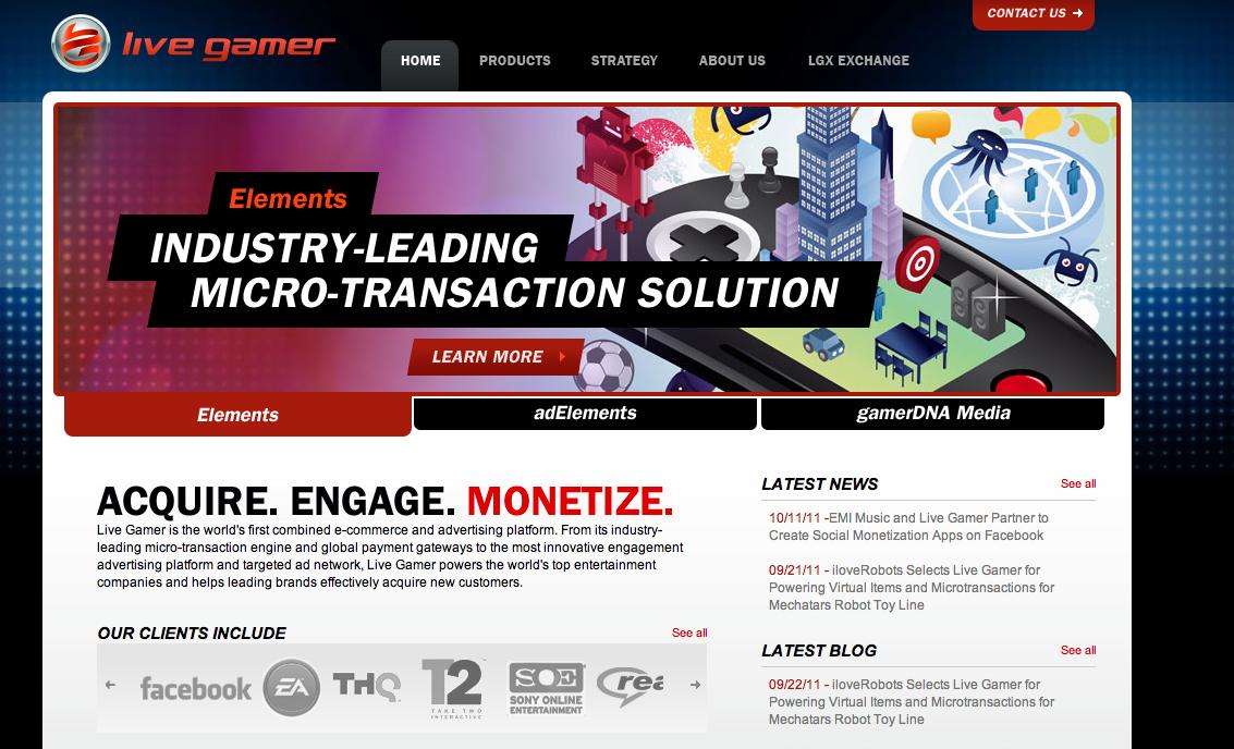 仮想アイテムマーケットプレイスのLive Gamer、850万ドル資金調達