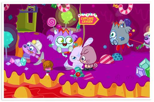 イギリスの子供向け仮想空間「Moshi Monsters」、お菓子にも進出
