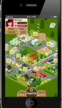ゆめみ、「MyTown」日本版をiPhoneで提供開始