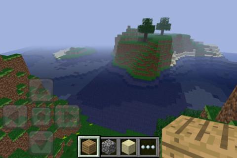iPhoneでもブロック積み!「Minecraft - Pocket Edition」iOS版が登場1