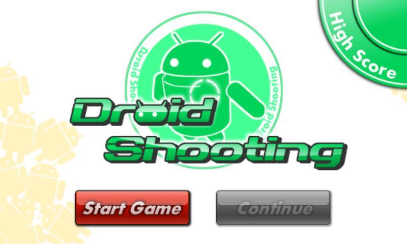 ARのドロイド君を撃ち落とそう!ARシューティングアプリ「ドロイドシューティング」1