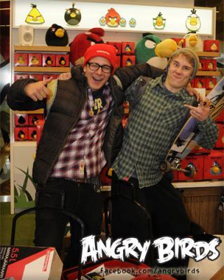 Rovio、ヘルシンキ市内にAngry Birdsのキャラショップをオープン1