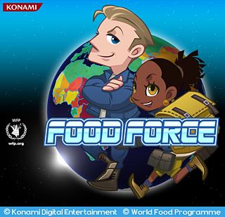 KONAMI、WFPの食糧支援活動を支援できるソーシャルゲーム「Food Force」をリリース1