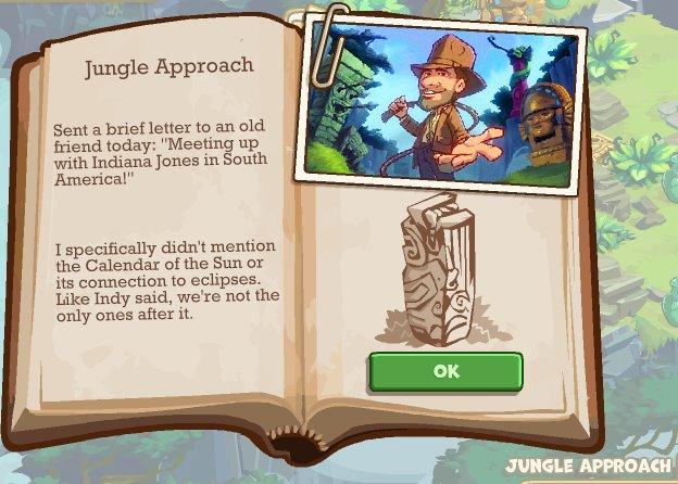 Zyngaのソーシャルゲーム「Adventure World」、インディー・ジョーンズとのタイアップを開始1