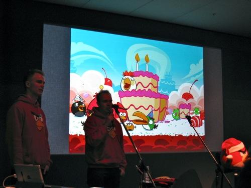 【レポート】Angry Birds 2周年記念セッション「Meet the App Developer : Angry Birds」inアップルストア銀座店1