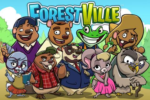 Zynga、新作iOS向けゲームアプリ「ForestVille」をリリース1