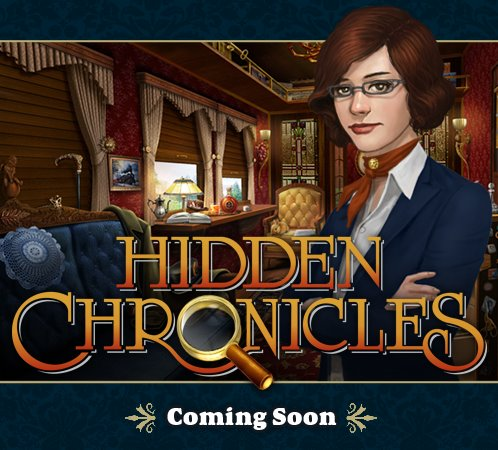 """Zyngaの次の新作は""""宝探し系"""" Facebookにて新タイトル「Hidden Chronicles」を発表1"""