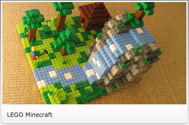 LEGO CUUSOOから「Minecraft」セットが発売決定