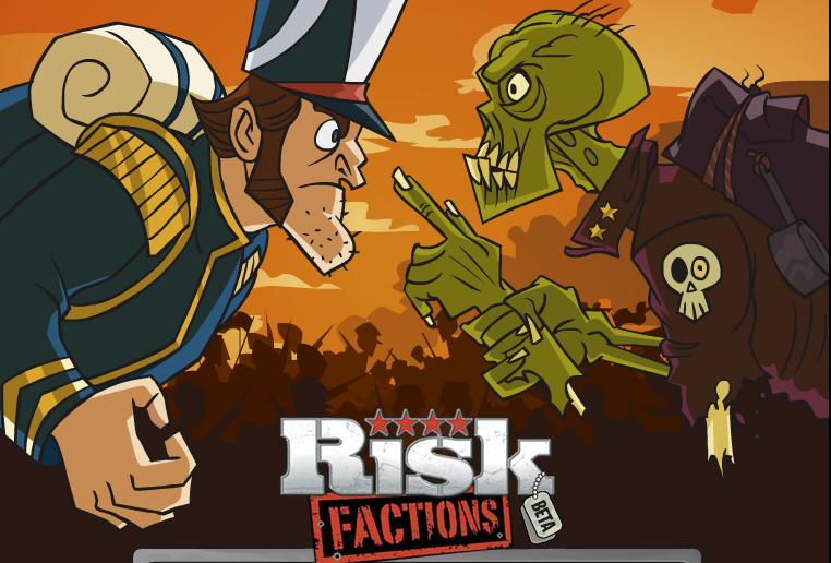 EA、Facebookにて新作ソーシャルゲーム「Risk:Factions」をリリース