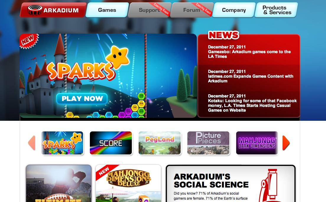 ソーシャルゲームディベロッパーのArkadium、ゲーム提供でMicrosoftと業務提携