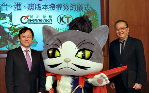 アジア進出だニャ!コーエーテクモのソーシャルゲーム「のぶニャがの野望」が台湾、香港、マカオに進出1