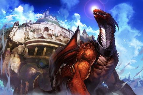 GREE、iOS向け本格RPG「ドラゴンアーク」をリリース1