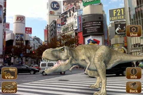 ジョイパレット、恐竜写真が撮れるiPhone向けARアプリ「ARディノパーク」をリリース1