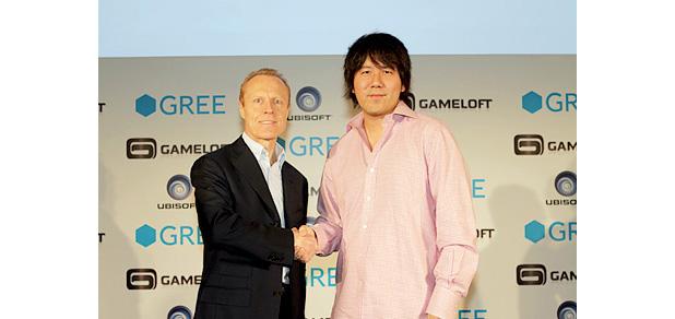 GREEとゲームロフト、新タイトル「ギャングドミネーション(仮)」をGREE Platformで提供1
