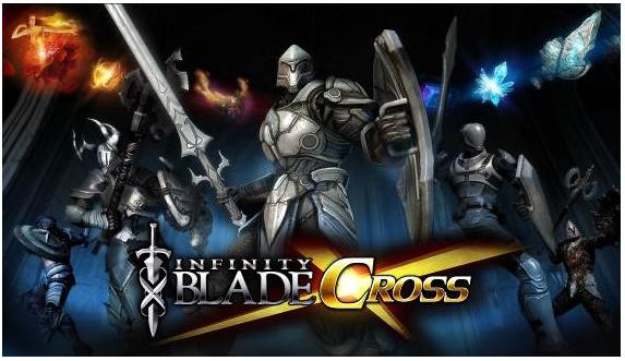 「Infinity Blade」の最新作「Infinity Blade Cross」がiOS版Mobageに登場!