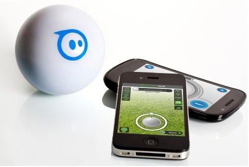 スマホやタブレットで操作できるボール型ラジコン「Sphero Robotic Ball」