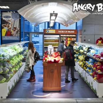 Rovio、ヘルシンキ・ヴァンター国際空港にAngry Birdsショップをオープン