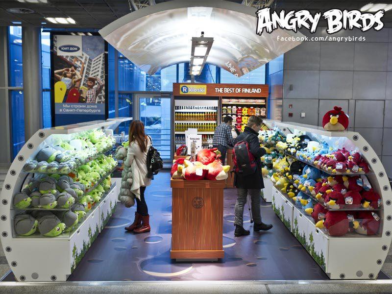 Rovio、ヘルシンキ・ヴァンター国際空港にAngry Birdsショップをオープン1