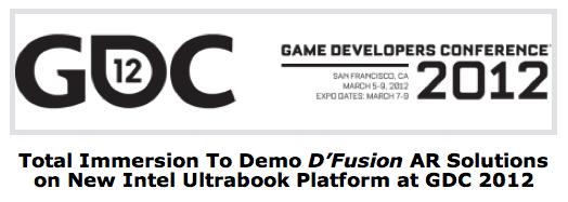 Total Immersion、ゲームエンジン「Unity」に対応したARコンテンツ開発SDK「D'Fusion」をGDCで発表