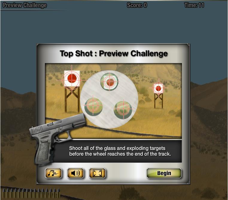 ヒストリーチャンネル、Facebookにて番組「TOP SHOT」をモチーフにしたソーシャルゲームをリリース