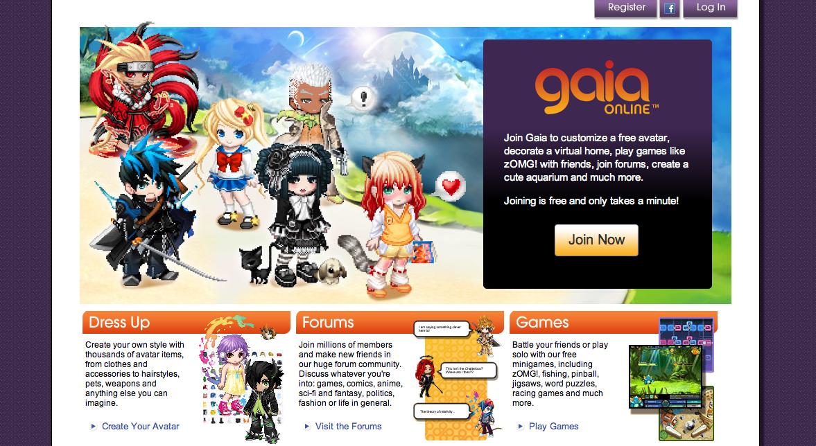 ソーシャルゲームプラットフォームのViximo、若者向け仮想空間「Gaia Online」と提携