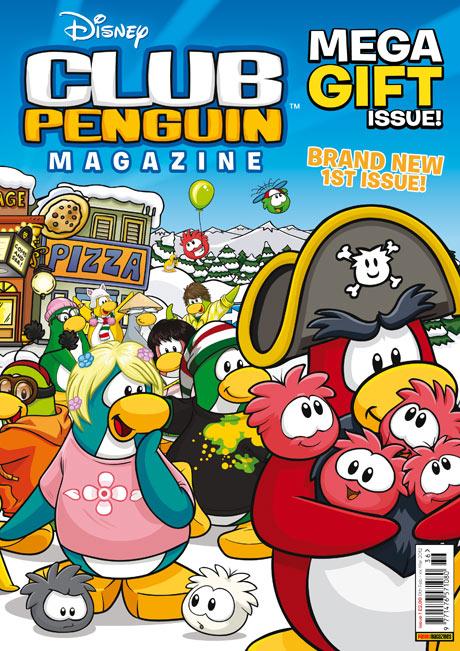 ディズニーの子供向け仮想空間「Club Penguin」、イギリスにて雑誌を刊行