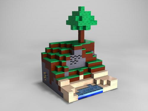 LEGOのMinecraftセット、2/16に「LEGO WORLD」でお披露目
