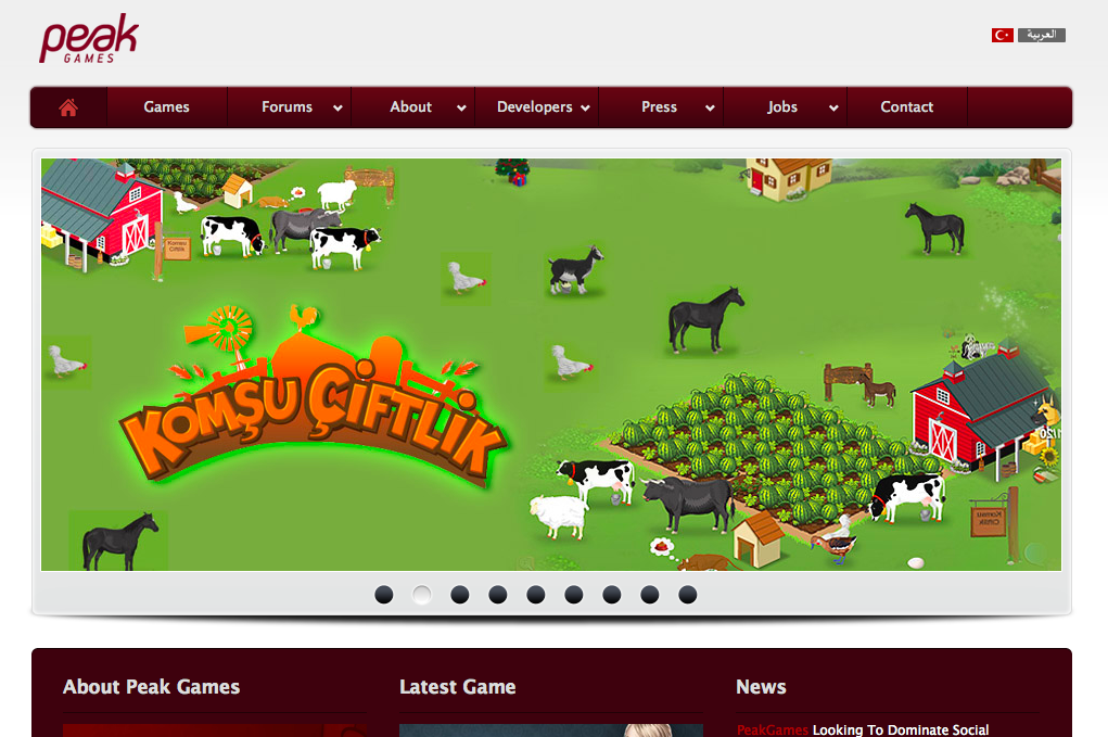 トルコのソーシャルゲームパブリッシャーPeak Games、サウジアラビアのソーシャルゲームディベロッパーを買収