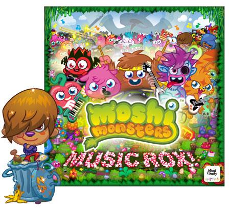 イギリスの子供向け仮想空間「Moshi Monsters」、ハードロックカフェでイベント開催