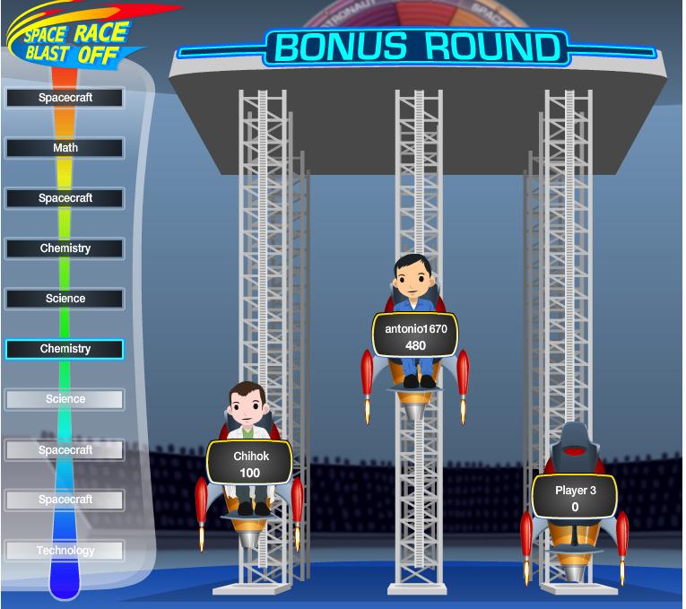 NASA、Facebookにてゲーム「Space Race Blast Off」をリリース