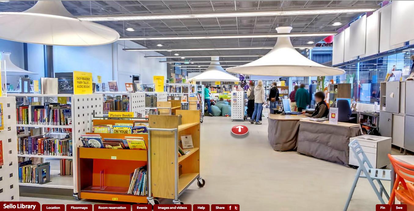 フィンランドの図書館をヴァーチャルツアーしてみよう